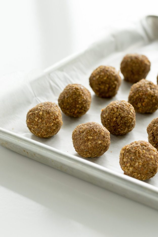 Raw Carrot Cake Balls An Unrefined Vegan