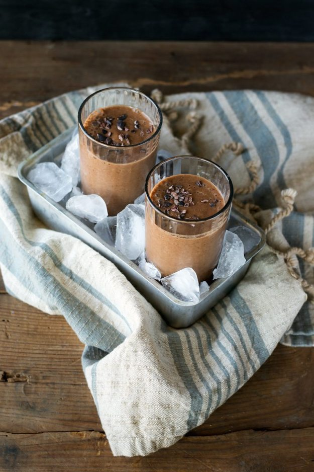Sugar-free, Gluten-free Chocolate Earl Grey Shake by An Unrefined Vegan