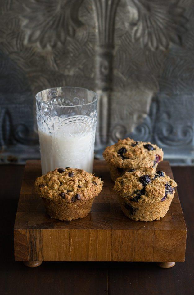 Vegan Multigrain Muffins by An Unrefined Vegan