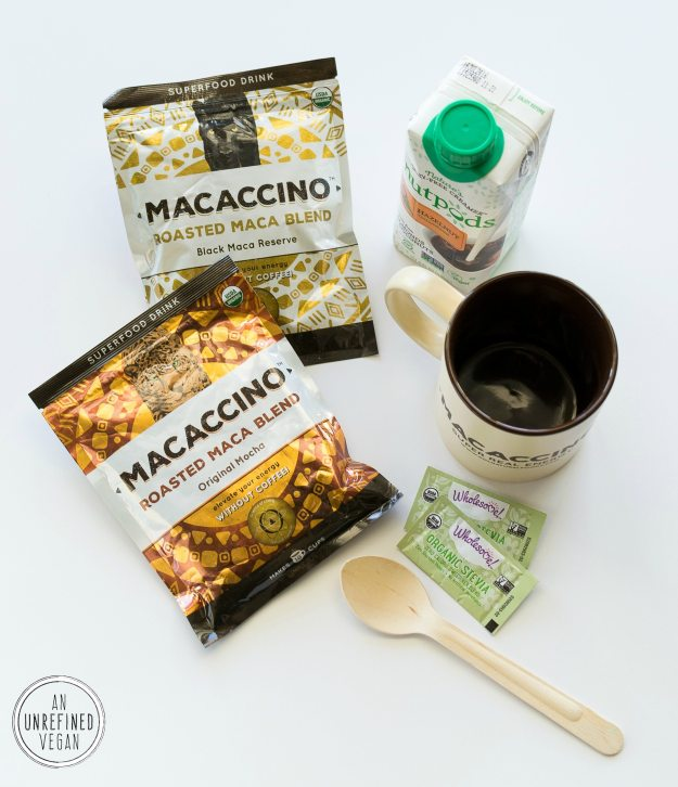 Macaccino Products Review by An Unrefined Vegan