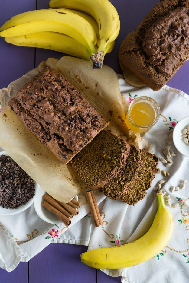 Oil-Free Vegan Banana Beer Bread by An Unrefined Vegan