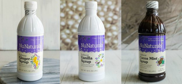 NuNaturals Flavored Syrups by An Unrefined Vegan