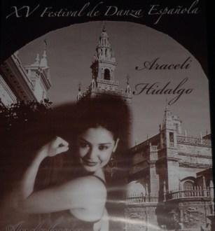 Araceli Hidalgo. Festival en Sevilla