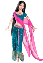 Diwali Barbie Doll