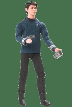 Ken doll as Mr. Spock