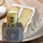 Cake jewelry candle