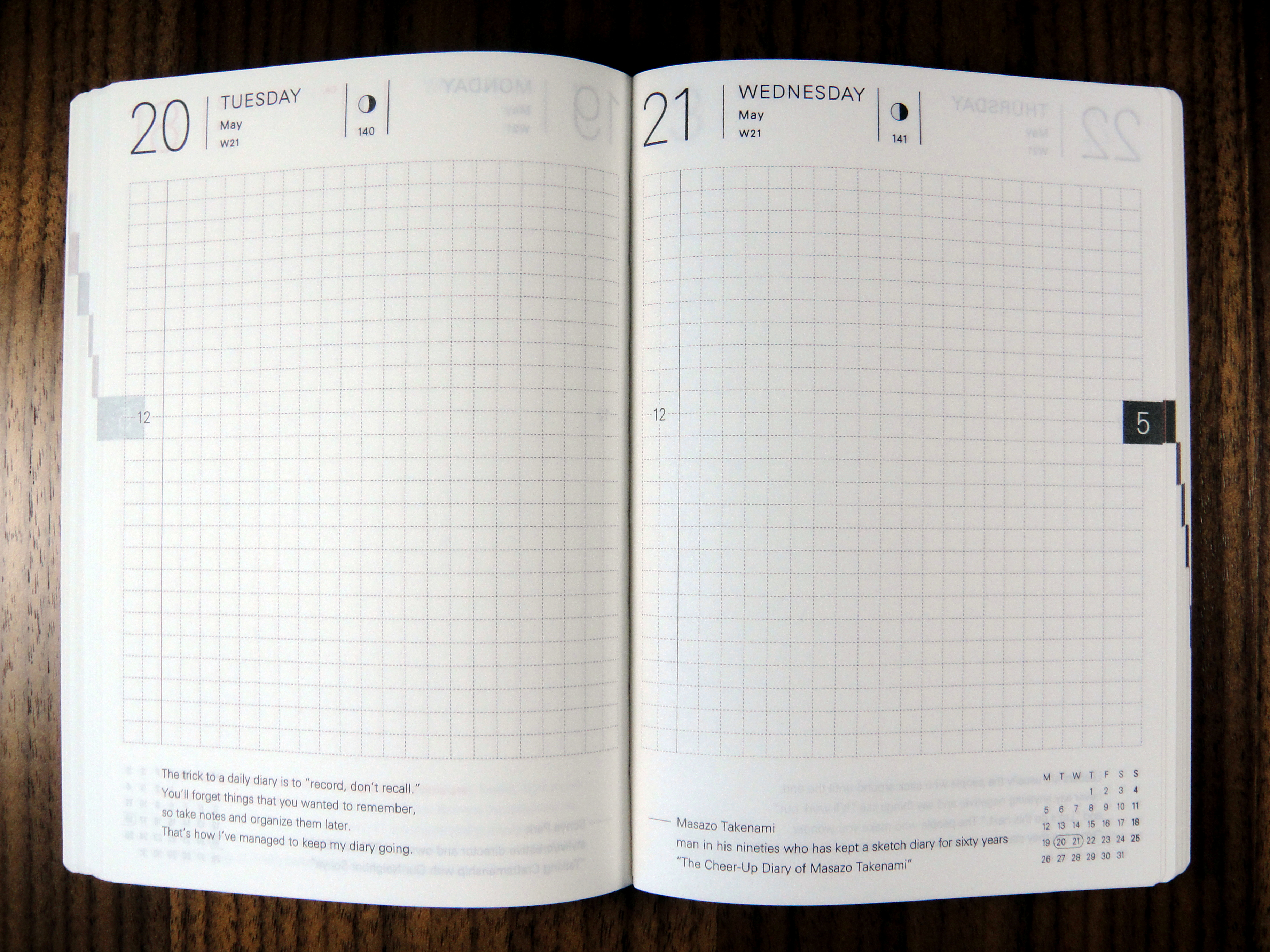 Hobonichi Planner Review The Unroyal Warrant