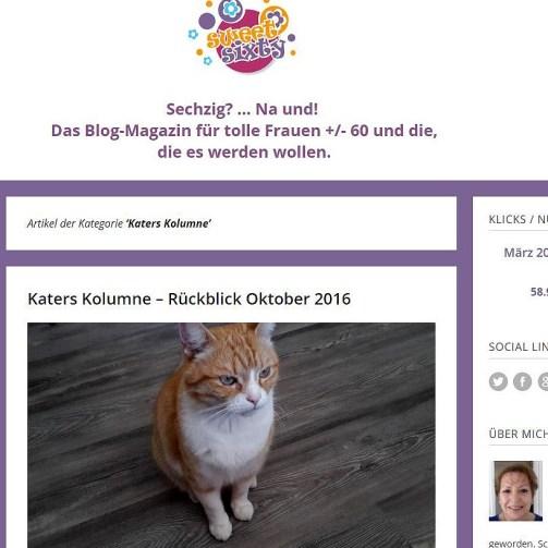 Bloggerimpressionen 50plus, Blogs50plus. sweetsixty