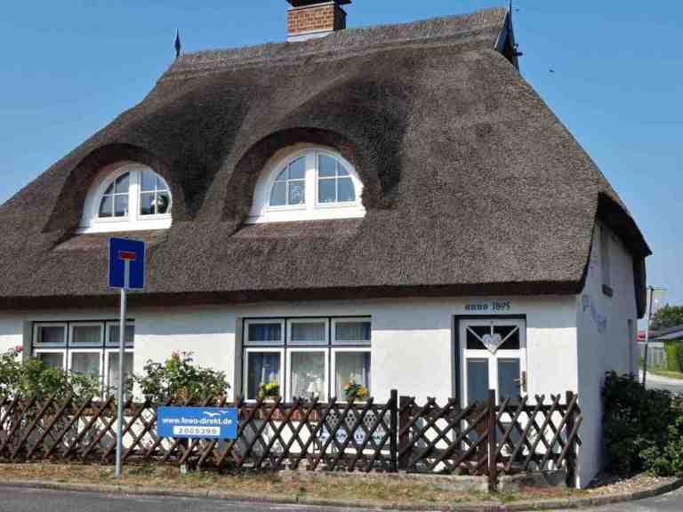 uns lütt Hüsing, Nostalgie Ferienhaus vor Usedom an der Ostsee