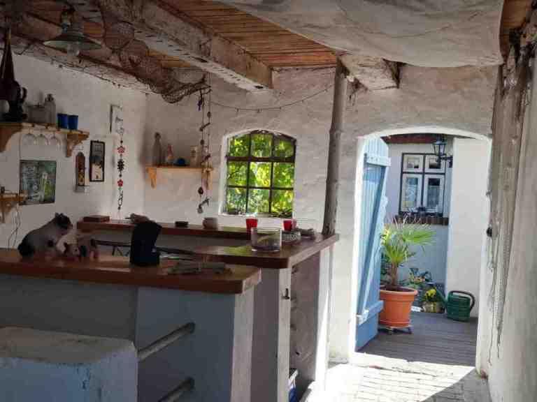 Bar, Nostalgie Ferienhaus vor Usedom an der Ostsee