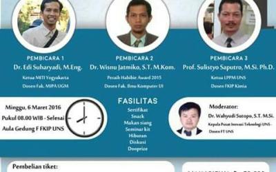 Seminar Nasional Optimalisasi Riset Indonesia