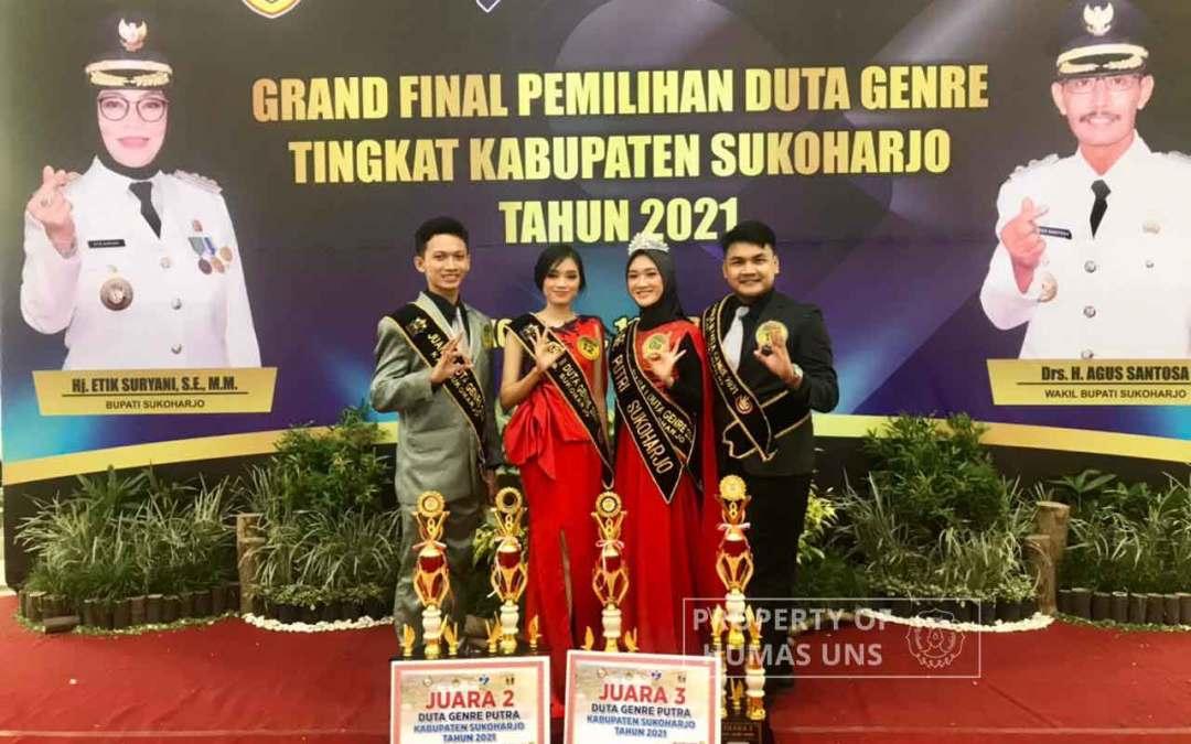Tiga Mahasiswa UNS Raih Juara dalam Pemilihan Duta GenRe Kabupaten Sukoharjo