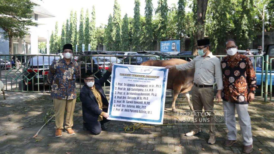 Iduladha 1442 H: UNS Prioritaskan Pembagian Daging Kurban untuk Pegawai Non-kontrak dan Masyarakat