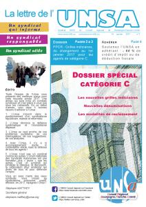 03 Journal UNSA 16 janvier 2017 - special PPCR Catégorie C-01