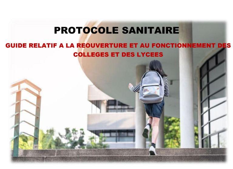 [UNSA] Les protocoles de reprise Education Nationale dans les établissements