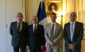 Le 25 septembre, malgré une actualité nationale chargée, les représentants nationaux SPP de l'UNSA Territoriaux étaient reçus par le Ministre de l'intérieur.