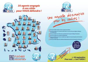 Profession de foi CAP SPP – Catégorie A & B – UNSA-SDIS de France - PAGE 1