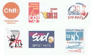 Courrier intersyndical transmis au Président du Conseil d'administration du SDIS de la Gironde