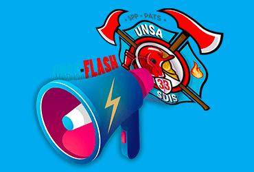 Parce que l'information ne doit pas attendre, nous avons créé l'UNSA-FLASH !