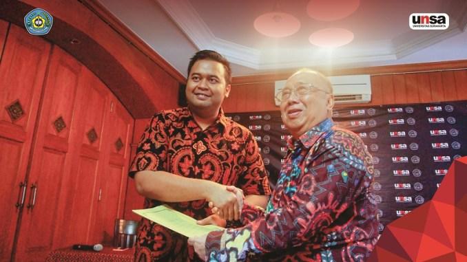 Rektor baru UNSA