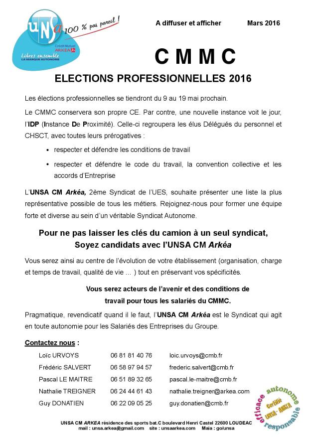 2016.03 UNSA tract appel candidatures CMMC