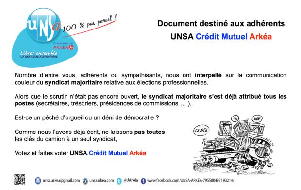2016.05.13 UNSA communication adhe rents e lections.pages