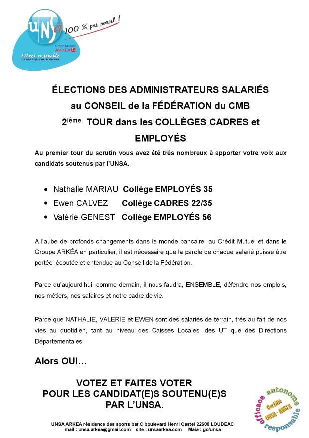2017.04 UNSA tract E lections 2° tour re seau-2
