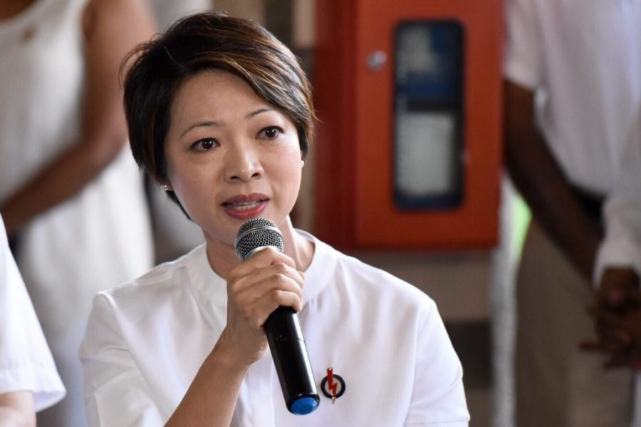 Ms Foo Mee Har, MP for Ayer Rajah. Full-time MP between 2011 and 2015. Photo from CNA