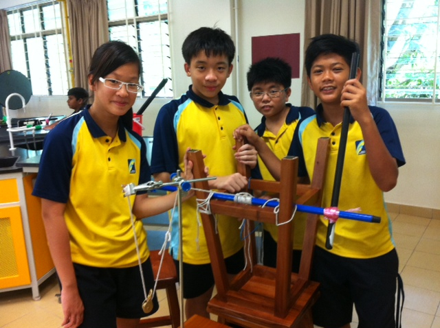 Students learning through a more hands-on approach