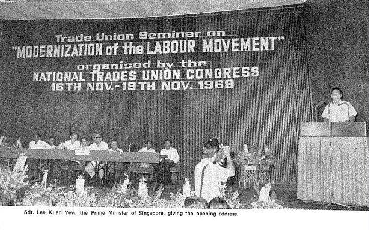 Modernization of the Labour Movement Seminar, 1969 (via NTUC Archives)