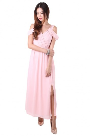 Bridesmaid dress MGP HEATHER MAXI DRESS IN SWEET PINK