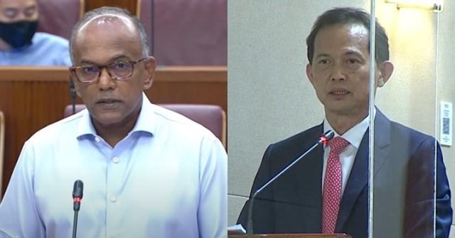 Law and Home Affairs Minister K. Shanmugam