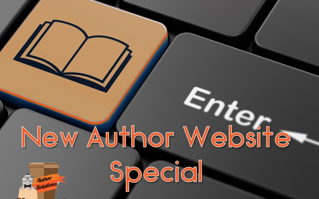 New Author? No problem! We've got you covered with our website special.