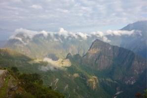 Machu Picchu from the Sun Gate