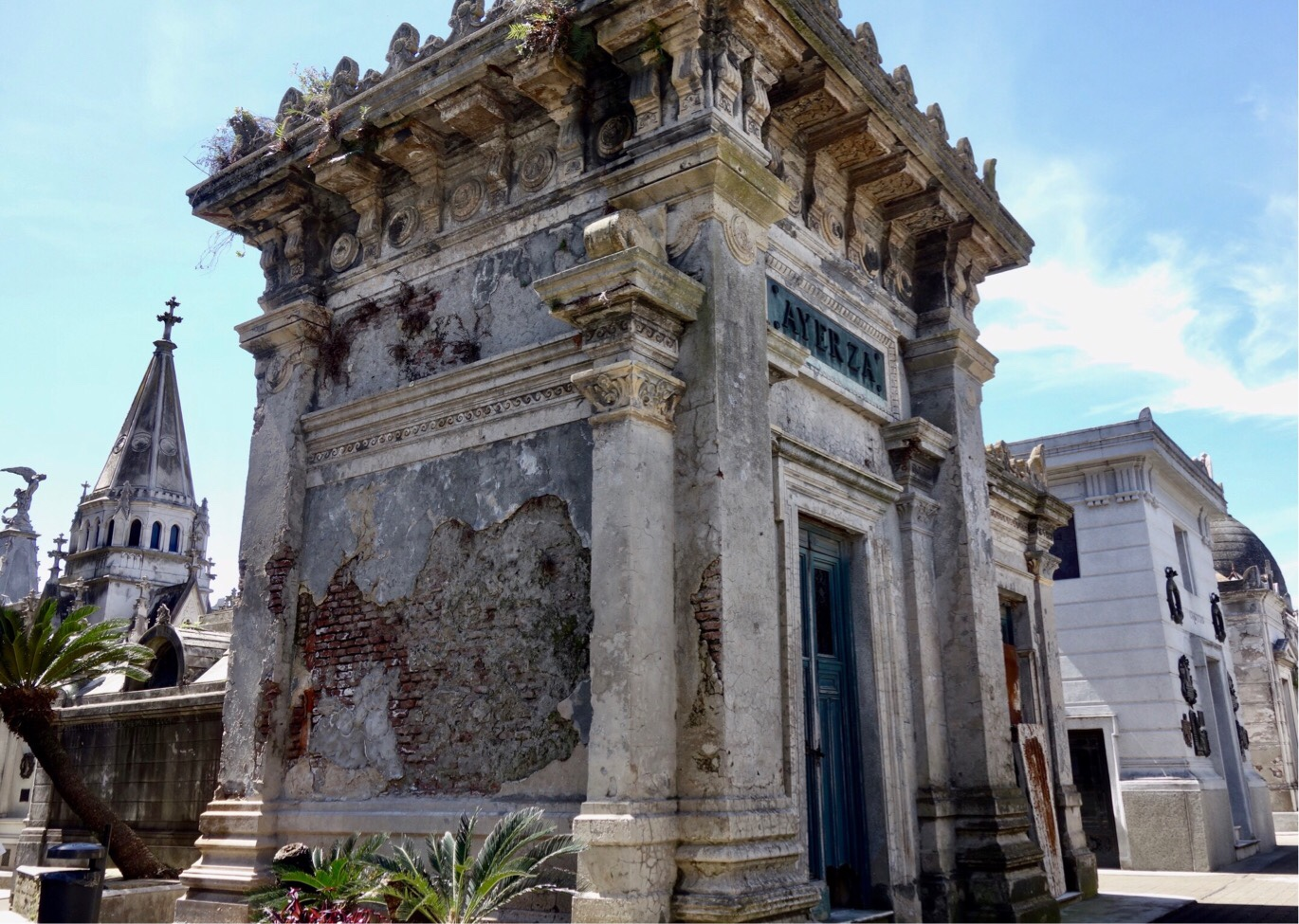 Big tomb at Recoletta Cemetery