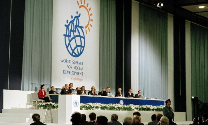 UNGA Marks the 20th anniversary of the World Summit for Social Development