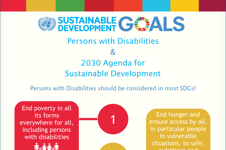 Persons with Disabilities & 2030 Agenda for Sustainable Development