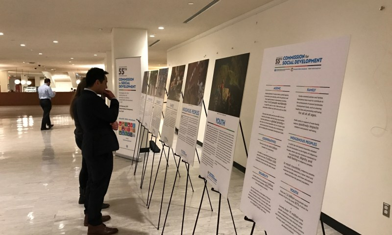 CSocD55 Photo exhibition showcases poverty eradication