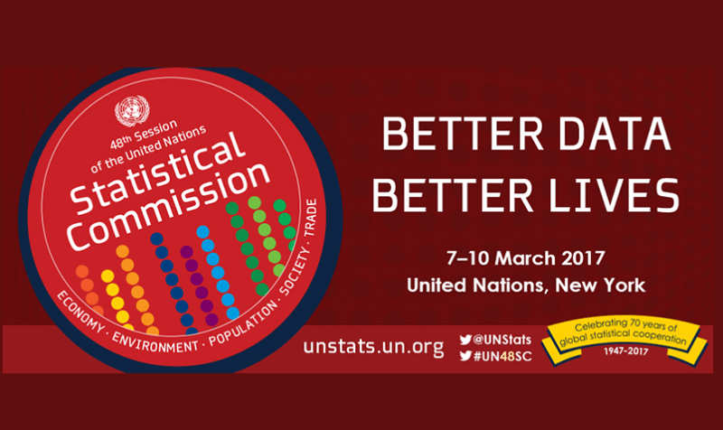 Better data, better lives: Celebrating 70 years of global statistical cooperation