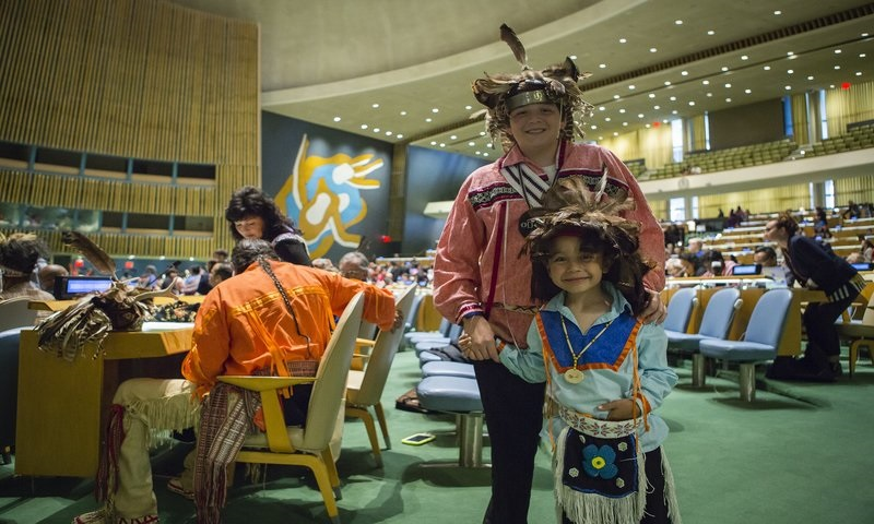 Indigenous Youth: Connecting Tradition, the Future, Mother Earth and Agenda 2030