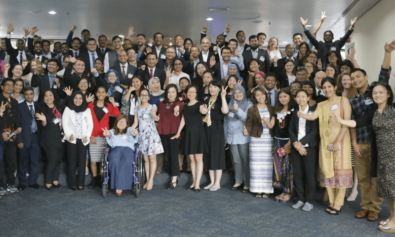Government officials and youth to promote evidence-based principles for youth development in Asia