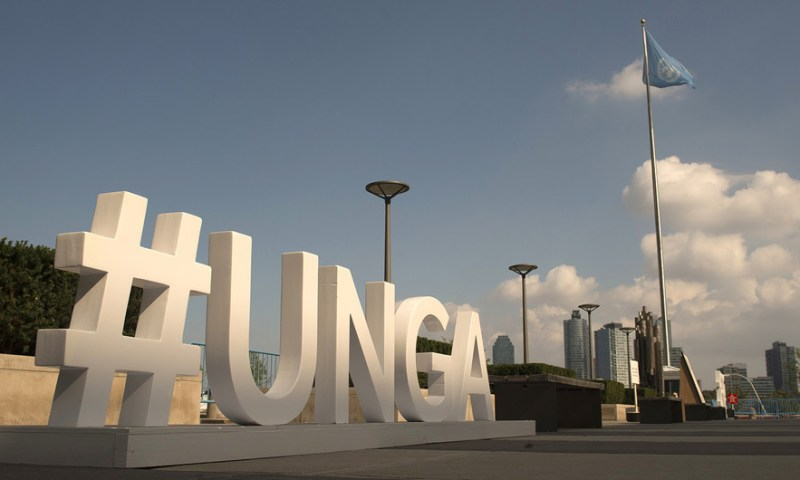#UNGA: 73rd Session of the UN General Assembly