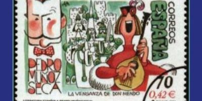 "Cartel de ""La venganza de don Mendo"", obra de teatro Populus teatrensis"