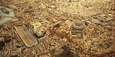 Panorámica de la Antigua Roma