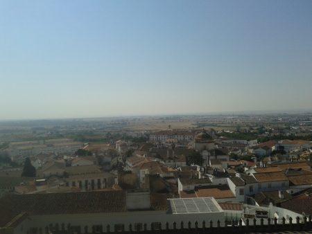 Panorámica de Évora (Portugal)