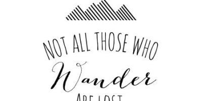 No todos los que vagan andan perdidos