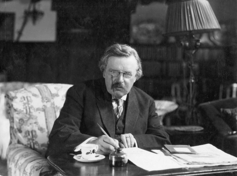 G.K.Chesterton, el lugar en el que los extremos se tocan