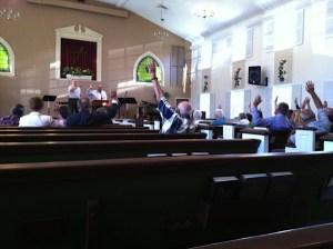 Mountainside Gospel Chapel Vote