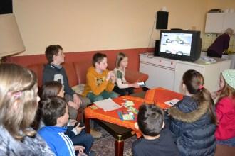 Beim Theaterverein hatten unsere Jüngsten viel Spaß beim PC-Spiel. Foto: Josef Nickolai
