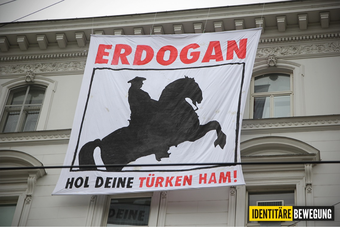 "Erdogankritik auf ""identitäre"" Art"